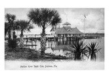 Daytona Beach, Florida - Halifax River Yacht Club Scene Prints by  Lantern Press