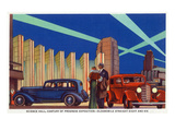 Chicago, Illinois - Science Hall at World's Fair Posters by  Lantern Press