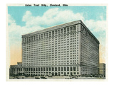 Cleveland, Ohio - Union Trust Building Exterior Prints by  Lantern Press