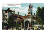 St. Augustine, Florida - Hotel Ponce De Leon Entrance Scene Poster by  Lantern Press