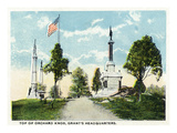 Chattanooga, Tennessee - Orchard Knob, View of Grants Headquarters Prints by  Lantern Press