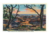 Grand Canyon Nat'l Park, Arizona - Sunset View from Hopi Point Art by  Lantern Press