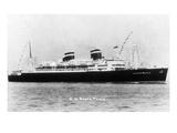 View of the SS Santa Paula Photograph Art by  Lantern Press