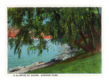 Cleveland, Ohio - Gordon Park Lakeshore Scene Posters par Lantern Press