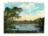 Cleveland, Ohio - Garfield Park Boating Scene Posters by  Lantern Press