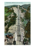 California - Passengers Awaiting Mt. Lowe Incline Railway Prints by  Lantern Press