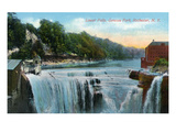 Rochester, New York - Lower Falls in Genesee Park View Posters by  Lantern Press