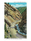 Estes Park, Colorado - Lyons-Allen's Park View of South St. Vrain Canyon Posters by  Lantern Press