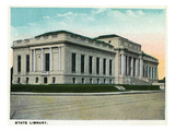 Hartford, Connecticut - State Library Building Exterior Prints by Lantern Press