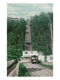 Montreal, Quebec - View of Mount Royal Rail Incline Posters by  Lantern Press