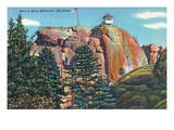Colorado - View of Devil's Head Mountain Lookout Tower Prints by  Lantern Press