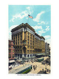 Philadelphia, Pennsylvania - Philadelphia and Reading Terminal Exterior Posters by  Lantern Press
