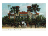 St. Augustine, Florida - Hotel Alcazar Exterior View Prints by  Lantern Press