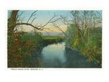 Brevard, North Carolina - French Broad River Scene Prints by  Lantern Press