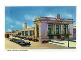 Wichita, Kansas - Exterior View of Union Station Posters by  Lantern Press