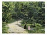 Syracuse, New York - View of Rockwell Spring Prints by  Lantern Press