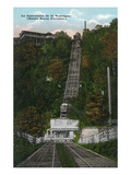 Montreal, Quebec - Mount Royal Incline Elevator Scene Print by  Lantern Press