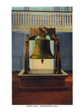 Philadelphia, Pennsylvania - Independence Hall Liberty Bell Scene Posters by  Lantern Press
