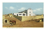Laguna Pueblo, New Mexico - View of the Church Posters by  Lantern Press