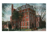 Syracuse, New York - Hospital of the Good Shepherd View Posters by  Lantern Press