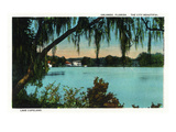 Orlando, Florida - Lake Copeland Scene Posters by Lantern Press