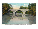 Antietam Creek, Maryland - Nat'l Road, Old Stone Bridge Near Hagerstown Posters by  Lantern Press
