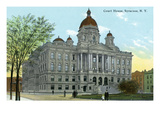 Syracuse, New York - Court House Exterior View Prints by  Lantern Press