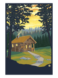 Cabin in the Woods Posters by  Lantern Press
