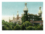 Tampa, Florida - Tampa Bay Hotel Exterior View Prints by  Lantern Press