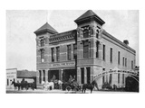 Mankato, Minnesota - Exterior View of Central Fire Station Prints by  Lantern Press