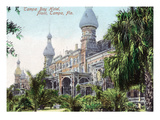Tampa, Florida - Tampa Bay Hotel Entrance View Poster by  Lantern Press