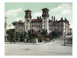 St. Augustine, Florida - Exterior View of Alcazar Hotel Kunstdrucke von  Lantern Press