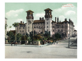 St. Augustine, Florida - Exterior View of Alcazar Hotel Prints by  Lantern Press