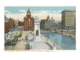 Syracuse, New York - Clinton Square, Soldiers' and Sailors' Monument Posters by  Lantern Press