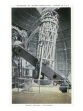 Mt. Wilson, California - Interior View of the Mt. Wilson Observatory Art by  Lantern Press