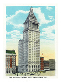 Cincinnati, Ohio - Union Central Life Insurance Co Building Exterior Prints by  Lantern Press