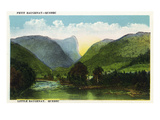 Quebec, Canada - Scenic View of Little Saugenay Prints by  Lantern Press
