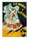 La Mora Y Manzano Theater Posters by  Lantern Press