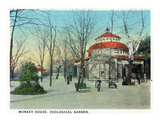 Cincinnati, Ohio - Zoological Gardens Monkey House Posters by  Lantern Press