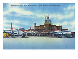 Minnesota - Planes at Minneapolis-Saint Paul Metropolitan Airport Posters by  Lantern Press
