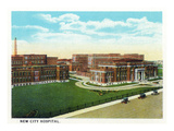 Cincinnati, Ohio - New City Hospital Exterior Posters by  Lantern Press