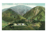 California - View of Arrowhead Hot Springs Grounds Near San Bernardino Posters by  Lantern Press