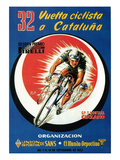 Bicycle Racing Promotion Premium Giclee Print by  Lantern Press