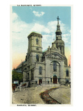 Quebec, Canada - Basilica Exterior Prints by  Lantern Press