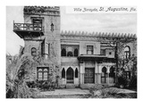 St. Augustine, Florida - Villa Zorayda Exterior View Posters by  Lantern Press