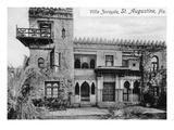 St. Augustine, Florida - Villa Zorayda Exterior View Posters by  Lantern Press