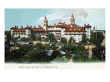 St. Augustine, Florida - Hotel Ponce De Leon Exterior Prints by  Lantern Press