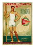 Crew Competition Promotion Affiche par  Lantern Press
