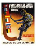 Roller Hockey Promotion Poster par  Lantern Press