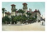 St. Augustine, Florida - Exterior View of Alcazar Hotel Posters by  Lantern Press
